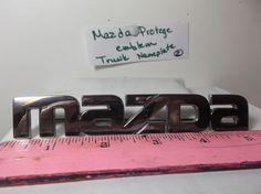 Mazda Protege' Trunk Emblem badge logo symbol nameplate 2  #mazdaoem