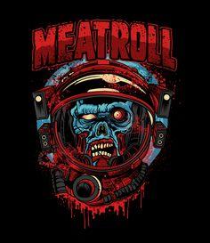 Creative T Shirt Design, Unusual Art, Vector Art, Shirt Designs, Stickers, Halloween, Music, Illustration, Fictional Characters