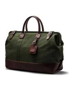 Billykirk No. 166 Large Carryall in Olive & Brown | REVOLVE