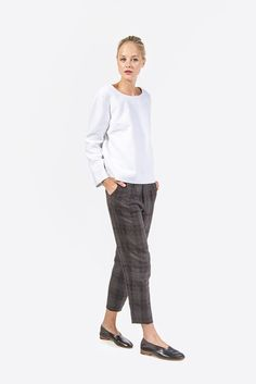 Pegged Trouser by Horses Atelier @ Kick Pleat - 1