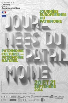The European Heritage Days known in France as Journées du Patrimoine. It's a joint action of 50 European states to unveil their heritage to the public. Palais Du Luxembourg, Saint Ouen, Art Moderne, Paris, Cool Posters, Poster On, Typography, Graphic Design, Reading
