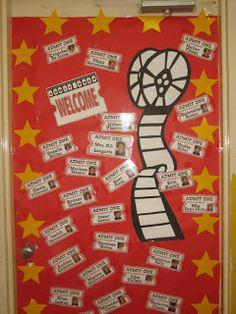 hollywood classroom theme | Hollywood Theme Classrooms {2011 Edition}