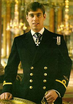 Prince Andrew, youngest son of Queen Elizabeth and Prince Phillip