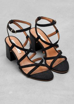 Strappy leather sandals | Strappy leather sandals | & Other Stories