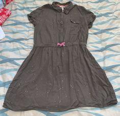 Cat & Jack Dress size XL 14/16 | Mercari Dresses Kids Girl, Paint Splatter, Gold Paint, Clothes For Sale, Kids Girls, Olive Green, Shirt Dress, Boutique, Cat