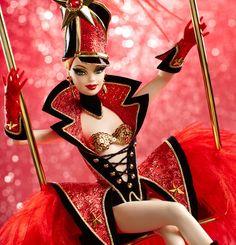 Barbie circus by Bob Mackie Bob Mackie, Mattel Barbie, Vintage Barbie Dolls, Burlesque Costumes, Movie Costumes, Stella Lee, Superstar, Valley Of The Dolls, Beautiful Barbie Dolls