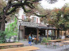 Kinderfreundliches Restaurant forkandbottle - food4family Restaurants, Outdoor Decor, Viajes, Children, Restaurant