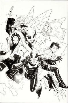 X-Men by Olivier Coipel
