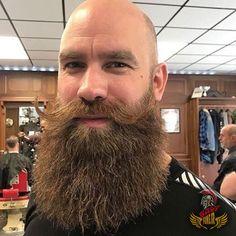 Viking Beard Tips and Styles (Part 1 of Shaved Head With Beard, Bald With Beard, Red Beard, Ginger Beard, Bald Men, Great Beards, Awesome Beards, Beard Styles For Men, Hair And Beard Styles