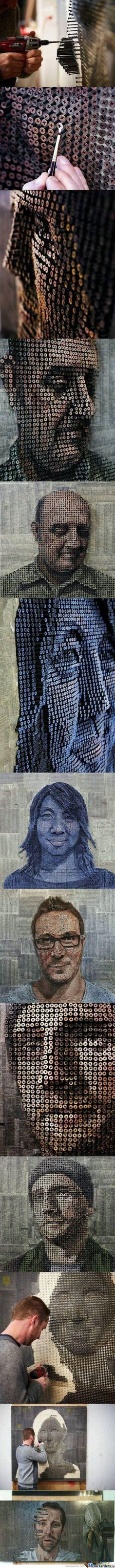 Amazing Screw Art