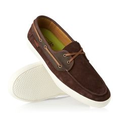 Vans Shoes - Vans Chauffeur Shoes - Chesnut Suede
