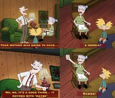 Hey Arnold!  I loved Pooky!