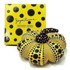【楽天市場】【全品送料無料】Yayoi Kusama草間彌生 Pumpkin(パンプキン)水玉 ドット 南瓜 かぼちゃ キーリング付きのマスコット 存在感抜群 特製BOX入り プレゼントに最適 お祝い 贈り物 プレゼント ギフト:Love天 楽天市場店