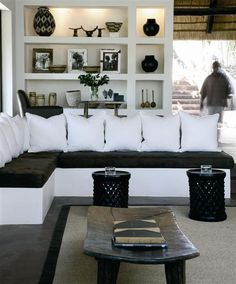 Clean lines in black & white love it!