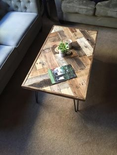 DIY Pallet Coffee Table | #101Pallets    #followback…