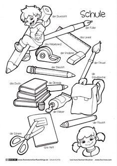 Schule und KiTa - Schulsachen Schreibzeug - Kacinari-Bruckner