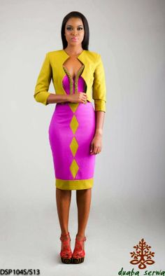 Nothing But the Wax ~African Prints, African women dresses, African fashion styles, african clothing