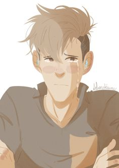"""I need you right now…""  ——  When Jean gets anxious because of his disability and Marco is not there to safe him from his pain. … That is a quick thing I started and wanted to show (nothing special…)~"