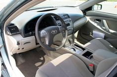 View To Driver Place In Interior Of Toyota Camry 2011