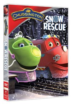 Chuggington Snow Rescue DVD - Perfect Holiday Gift for the Little Train Lover in Your Life!