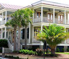 double side porches