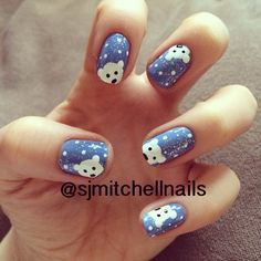 polar bears by sjmitchellnails #nail #nails #nailart