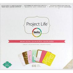 Search: project life > Project Life Core Kit-Heidi Swapp -Dreamy: A Cherry On Top