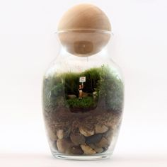 Fab.com | Gentle Reminder Female Terrarium.  Really unusual way to tell someome you love them!