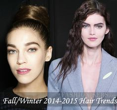 Fall/ Winter 2014-2015 Hairstyle Trends - Fashion Trends, Makeup Tutorials, Hairstyles and Style Secrets
