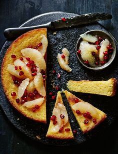 We'll be baking this delicious, gluten-free grapefruit polenta cake ...