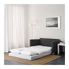 IKEA - SOLSTA, Sleeper sofa,  , , This sofa converts into a roomy bed quickly and easily when you fold out the seat cushions.