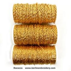 Information on how to sew down metal hand embroidery threads for goldwork embroidery. Close up pictures and descriptions of gold, silver and copper threads. Embroidery Tools, Embroidery Scissors, Embroidery Supplies, Hand Embroidery, Embroidery Designs, Metallic Thread, Silk Thread, Gold Work, Close Up Pictures