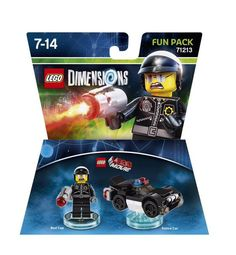 LEGO Dimensions Fun Pack: Bad Cop (Bad Cop and Police Car included)
