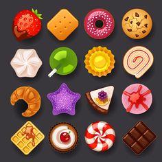糖果 图案 矢量的搜索结果_百度图片搜索@NasaHOy采集到食物icon(115图)_花瓣UI/UX