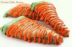 Carrot Cake Scones via @createdbydiane