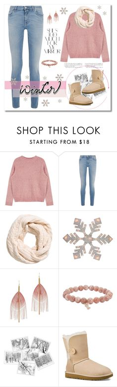 """Cozy outfit"" by jennifer-allison-bulnes-apolo on Polyvore featuring moda, Givenchy, Serefina, Sydney Evan, Rika y UGG Australia"