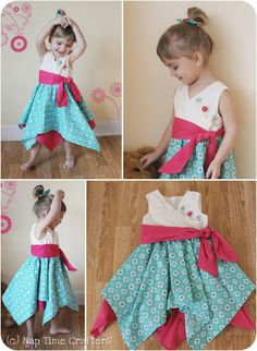 Nap Time Crafters: Tutorial: Pixie Dust Dress