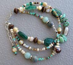 Boho Bracelet Chunky Bracelet Rare Gemstone by BohoStyleMe