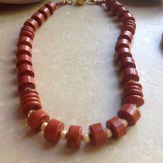 Gold Fire Necklace