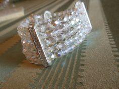 Bracciale 5 fili cristalli boemia 6 mm. colore crystal AB, by Penso a me, 8,00 € su misshobby.com