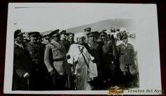 GUERRA DEL RIFF, CORONEL POZAS DE REGULARES Nº 2 DE CABALLERIA, MEHALA, POLICIA INDIGENA, JUNTO CON JEFE DE KABILA, CAMPAÑA DE MARRUECOS 1926