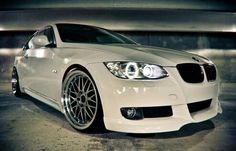 BMW E92 3 series white