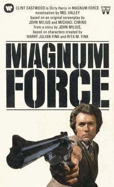 Magnum Force is the first in a series of sequels to the 1971 film Dirty Harry, starring Clint Eastwood returning as maverick cop Harry . Clint Eastwood, Cops Tv, Tim Matheson, Good Old Movies, Magnum Force, Adventure Novels, Silent Film Stars, Movies Worth Watching, Screenwriting