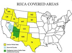 Department of Justice  www.justice.gov RECA Covered Areas
