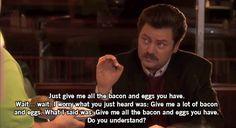 Some of my favourite Ron Swanson quotes. - Imgur