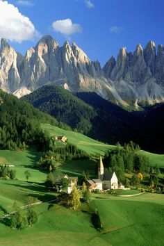 Santa Maddalena, Dolomites, Italy