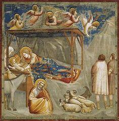 Natività di Gesù-Giotto-Cappella degli Scrovegni- 1303-1305