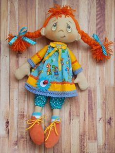 Коллекционные куклы ручной работы. Игровая кукла из текстиля - Нехочуха. Валентина Шумская. Ярмарка Мастеров. Коллекционная кукла, авторская игрушка