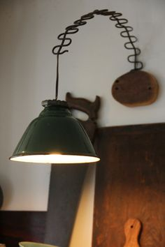 Pendant light by Brooklyn reclaimed-materials artist/builder Ariele Alasko. Gonna be done in the playroom, I believe! Light Fittings, Light Fixtures, I Like Lamp, Kitchen Lamps, Diy Kitchen, All Of The Lights, Lighting Concepts, Chandelier Lighting, Paper Chandelier
