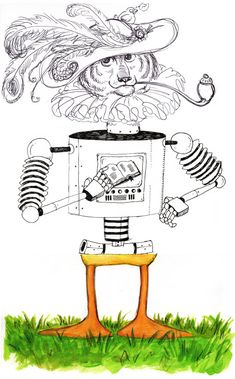 Exquisite Corpse idea for printmaking students
